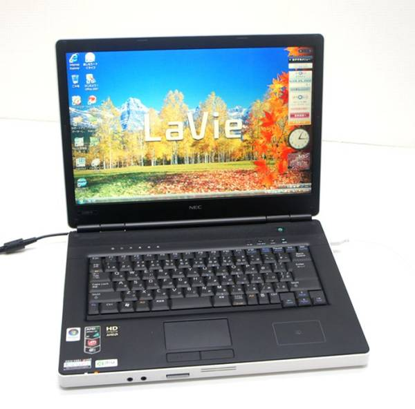 NEC 15.4型ノートLaVie L PC-LL550RG6B Vista Home Premium